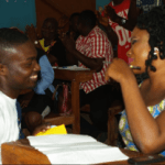 Incredible! Man proposes to his girlfriend Adeola in exam hall