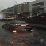 $800, 000 Ferrari California Washed Away By Flood In Thailand (See Photos)