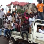 POLITICS: Wild jubilations in Akure over Akeredolu's victory