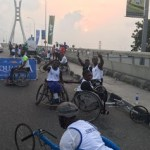See Photos: Physically Challenged Persons Participating In The Lagos Marathon