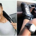 E! NEWS: Nollywood Actress, Regina Daniel Spotted Controlling Wheels Of Moving Car With Her Legs