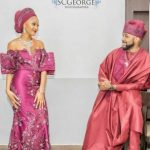 #BAAD2017: We Just Can't Get Over These Cute Photos Of Adesua Etomi And Banky W From Their Introduction Party