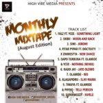 MIXTAPE: HVM TOP 10 (August Edition) (Hosted By DJ FantaB)