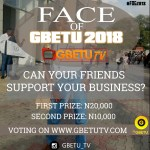 Win 30k with ease at the Face Of Gbetu 2018 #FOG2018  cc: @gbetublog