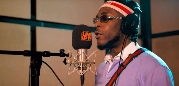 Burna Boy – Behind Barz (Freeystyle)