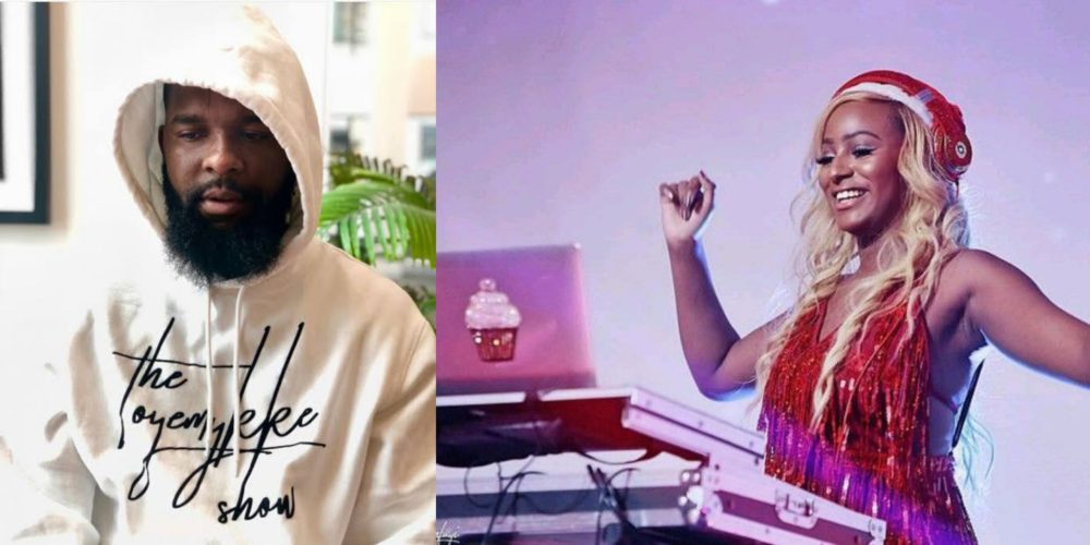 Oyemykke Apologize Publicly To DJ Cuppy On Instagram