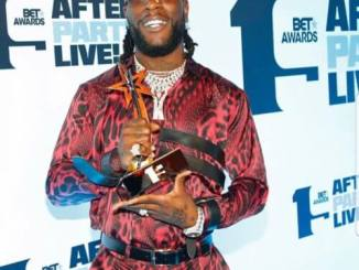 Burna Boy Wins Best International Act At The 2019 BET Awards, See Full List Of Winners