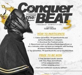 FREEBEAT: Certified PR x Tony Ross - Conquer The Beat 3 (Competition)