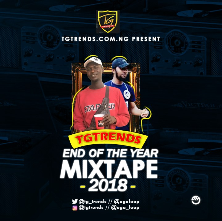 Int'lDJKell - TGtrends End Of The Year Mixtape