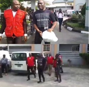 Mompha today finally Pleaded Not Guilty after been arraigned by EFCC