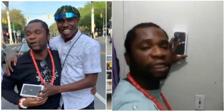 Speed Darlington wants to sell 0 iPhone Zlatan gifted him for 0 (Video)