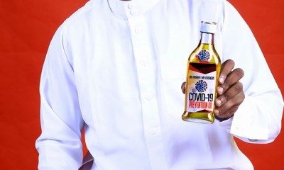 Nigerian pastor begins the sale of Coronavirus prevention oil ; price is a 'seed of faith of $100'