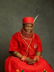 The Oba of Benin Welcomes a New Prince