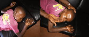 Woman allegedly beats her fiance's young son with log of wood, dips his hand in hot water