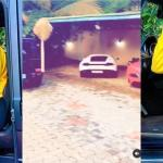 Regina Daniels Shows It All, The Fleet Of Expensive Cars In Their Garage