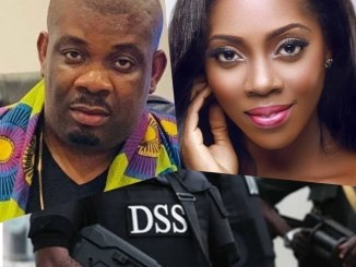 Don Jazzy, Tiwa Savage Arrested Over Alleged Political Posts Against President Buhari's Government