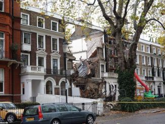 Chelsea mansion collapses during building work to create mega-basement at the £6m property