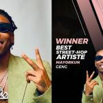 #14thHeadies: Mayorkun Beats Olamide, Naira Marley, Others To Win The 'Best Street-Hop Artiste' Award