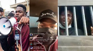 #ENDSARS: Police Arrest Mr Macaroni, others at Lekki Tollgate Protest | #OccupyLekkiTollGate