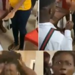 Lady goes crazy after her boyfriend proposed to her in Benin (video)