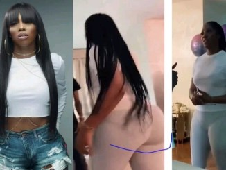 """""""Tiwa Don Do Nyansh Too"""" – Nigerians Reacts After Seeing The Backside Of Tiwa Savage In New Video"""