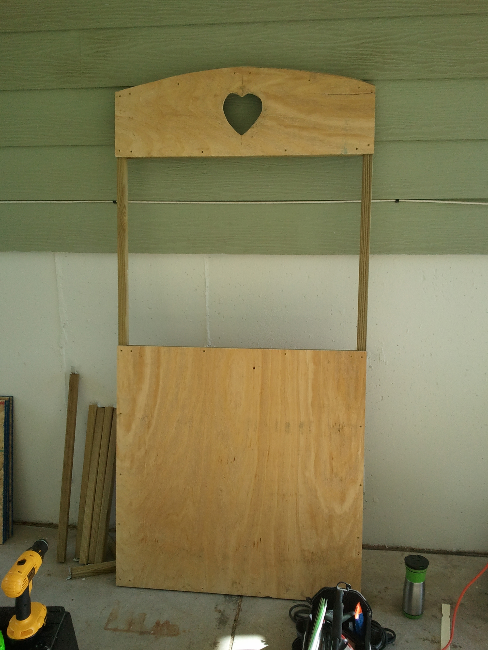 Grim Reaper Kissing Booth The Geek Woodworker