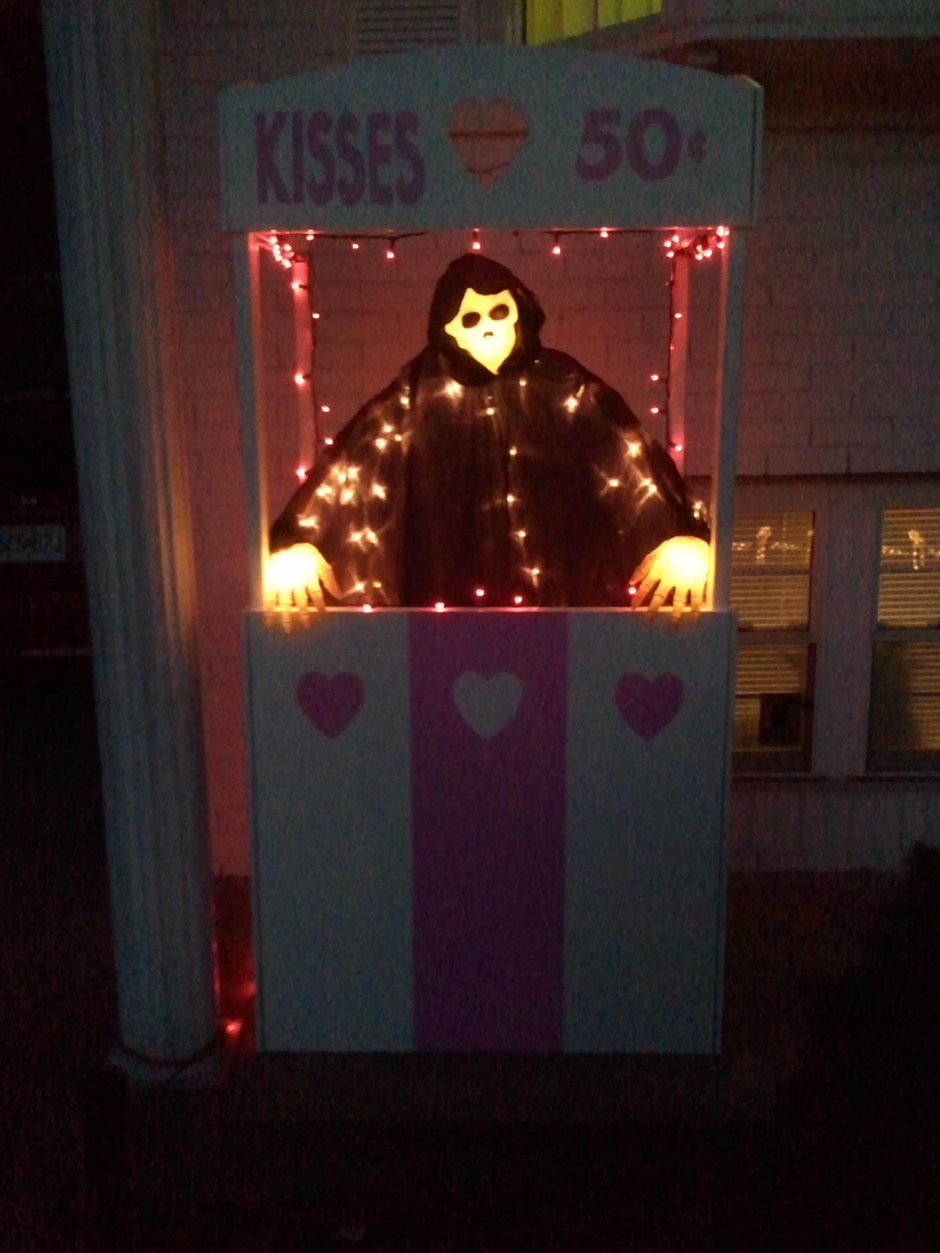 Grim Reaper Kissing Booth The Geek Woodworker