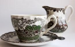 Angol teáskészlet, Magángyűjtemény