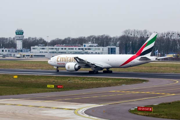 Emirates launches twice weekly freighter services to Maastricht