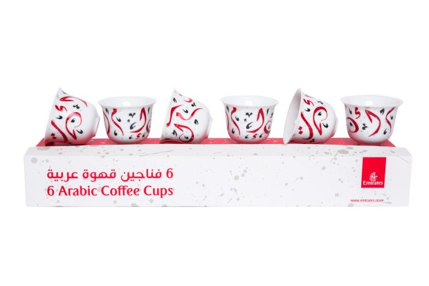 Emirates Official Store has launched a limited edition Arabic coffee cup collection in collaboration with Silsal.