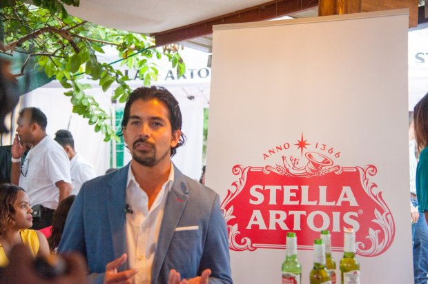 Zambian Breweries country director Jose Moran at the launch of the company's latest beer, Stella Artois.