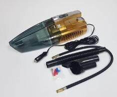 เครื่องดูดฝุ่นในรถยนต์ 4 IN 1 เครื่องดูดฝุ่นไฟรถ 12V เครื่องดูดฝ่นในรถ 4 ฟังก์ชัน ท่อดูดฝุ่นขนาดใหญ่ กำลังดูดสูง