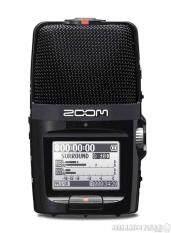 ZOOM : H2n ( เครื่องบันทึกเสียง มีไมค์ 5 ตัว และความสามารถในการบันทึกเสียงในรูปแบบ Surround และ 360 องศาแบบ Mid-Side รองรับความละเอียดสูงสุด 24bit, 96kHz)