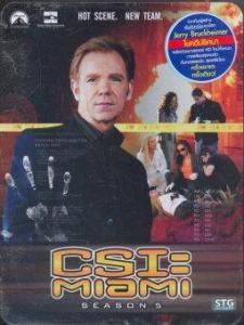 Boomerang CSI Miami Season 05/ไขคดีปริศนา ไมอามี่ ปี 5 (6 Discs Digipack-Metal Box Set)
