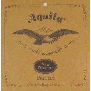 Aquila String New Nylgut UKULELE Size Tenor Aq_RegT (White)