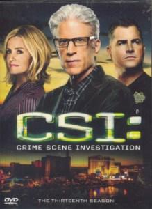 Boomerang CSI: Vegas Season 13 ไขคดีปริศนาเวกัส ปี 13 (DVD Box Set 6 Disc)