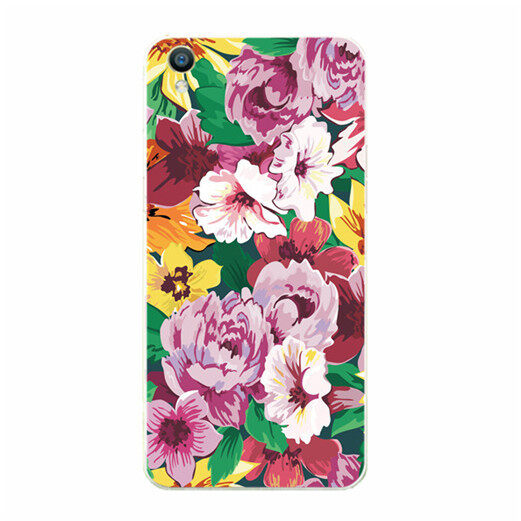 BUILDPHONE TPU Soft Phone Case for VIVO Y35 (Multicolor) – intl
