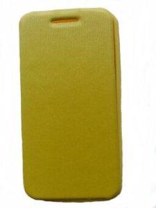 Asus case ฝาพับ Asus Zenfone4 - yellow