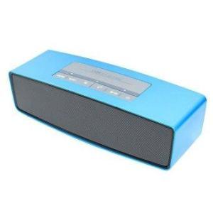 Center ลำโพงบลูทูธ Bluetooth Speaker Sound Link Miniรุ่น KR-9700A-(สีฟ้า)