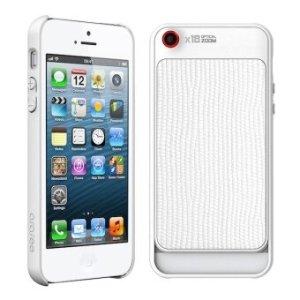 Araree เคสเลนส์ซูเปอร์มาโครไอโฟน 18X case super marco lens iPhone - สีขาว