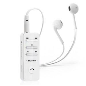 Bluedio หูฟังสเตอริโอ Bluedio Bluetooth บลูทูธไร้สาย - สีขาว