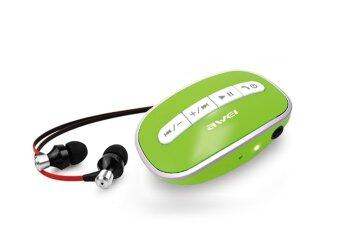 AWEI A300 BlueTooth 2.1 Stereo Headset - Green