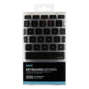 Befine Keyskin สำหรับ Macbook Pro (สีดำ)