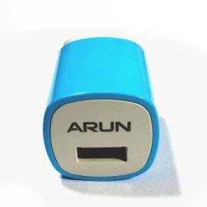 ARUN USB Wall Charge Adapter 1A - U100X (Blue)