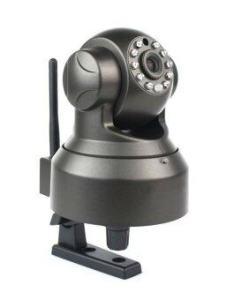 Babybear PNP IP Camera กล้องวงจรปิดดูผ่านอินเตอร์เน็ต / มือถือ (สีดำ)