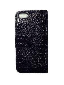 iPhone SE / 5S / 5 Wallet Leather Case - Black