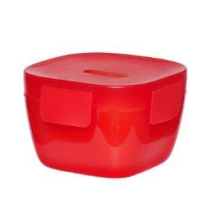 ALADDIN ชามใส่อาหาร+ที่เก็บความร้อน รุ่น CRAVE (สีแดง)