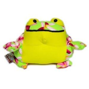 Admire Home Collection ตุ๊กตา Softee Pillows Toad L - Yellow