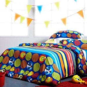 ชุดผ้าปูที่นอน 3.5 ฟุต 3 ชิ้น รวมผ้านวม Lotus Impression – รุ่น LI -L02 ลายลูนี่ตูนส์