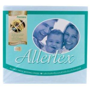 Allertex ปลอกหมอนกันไรฝุ่น 20 x 30 นิ้ว - สีฟ้า